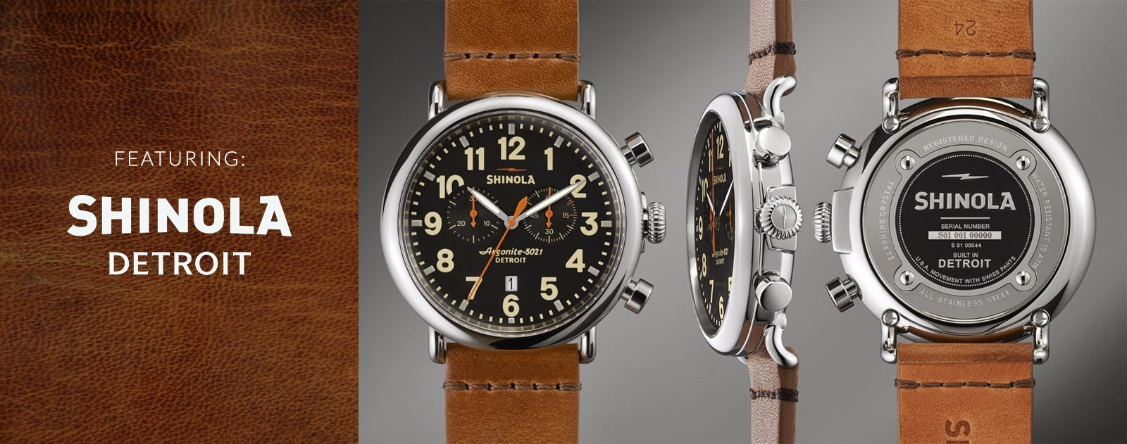 Shinola - Detroit - Watches
